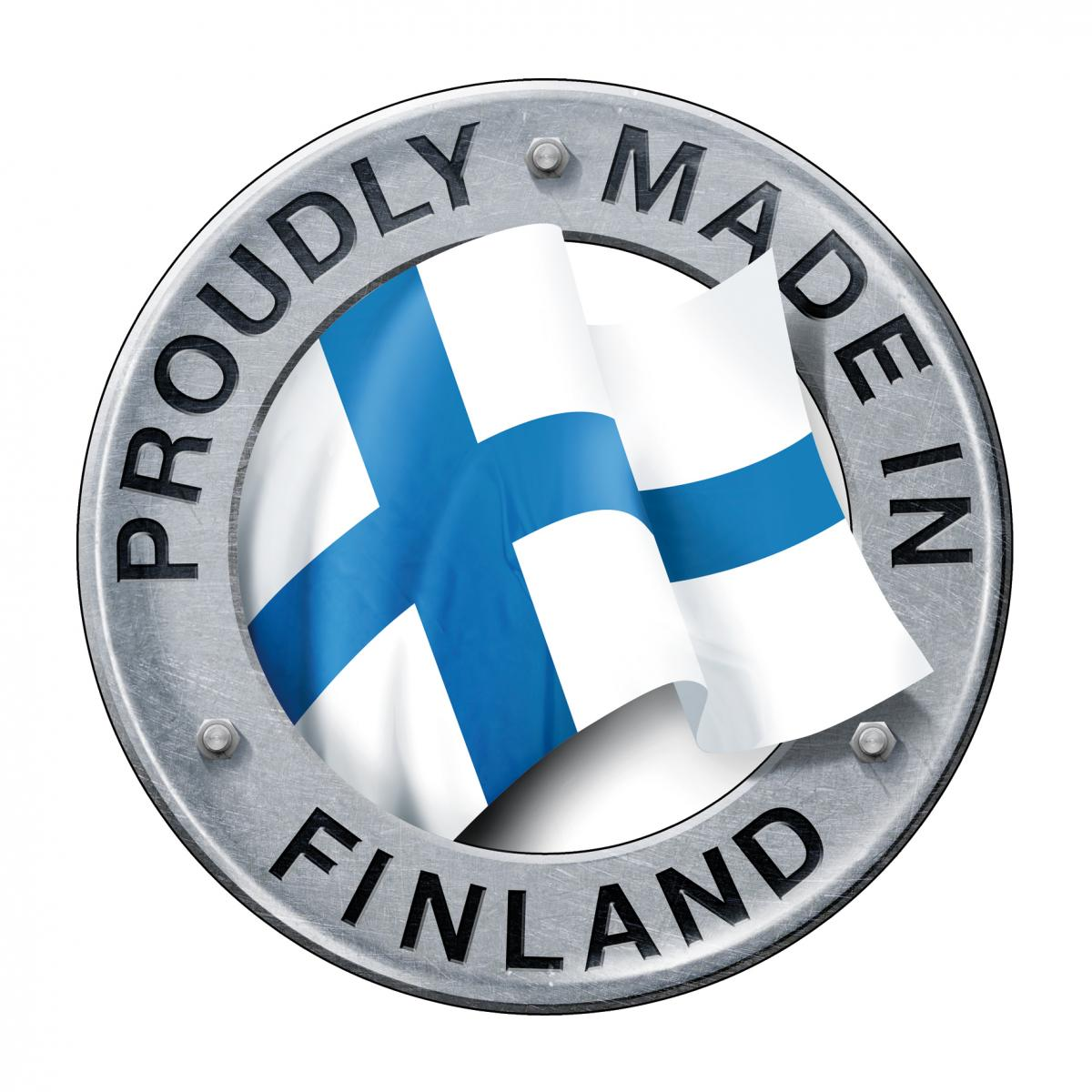 Proudly made in Finland