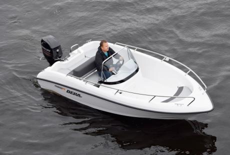 Bella 485 R openboat, avovene