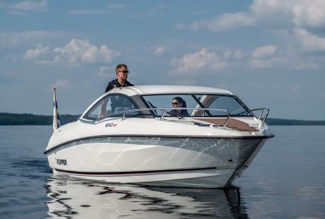 Flipper 640 ST retkivene/avovene/matkavene/moottorivene/päivävene