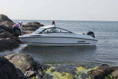 Flipper 600 ST retkivene/päivävene/huvivene/moottorivene