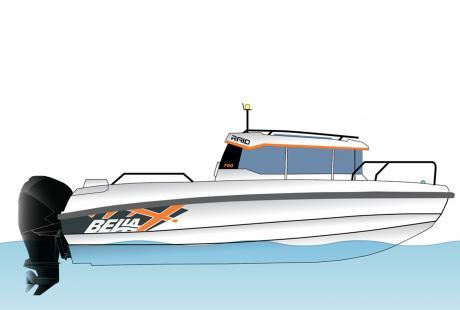 Bella 700 RAID Pilothouse/moottorivene/yhteysvene, kalavene, matkavene, hyttivene